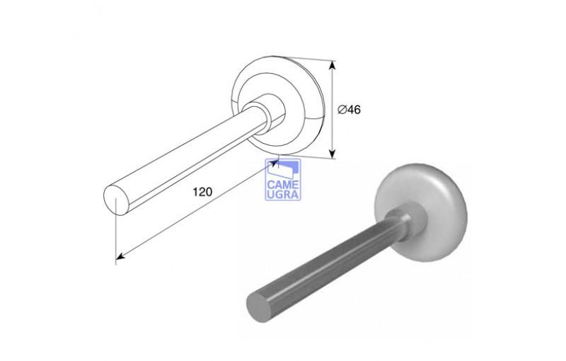 Ролик 120 мм для подъёмных секционных ворот