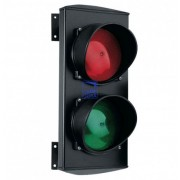 Светофор светодиодный, 2-секционный,красный-зеленый, 230В