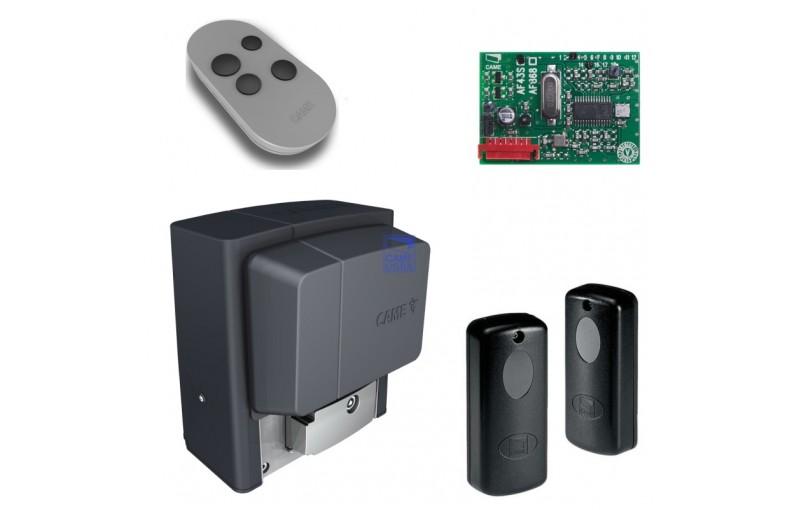 Комплект автоматики для откатных ворот на основе привода BX708 (радиоуправление, фотоэлементы)