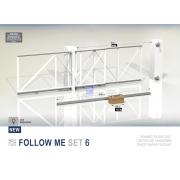 Комплект для телескопических откатных ворот на проезд 8 метров
