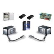 Комплект автоматики для двухстворчатых распашных ворот на основе привода F40230 (блок ZA3P, радиоуправление, фотоэлементы)