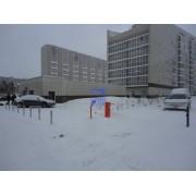 Установка шлагбаума и оградительных столбиков. г.Сургут