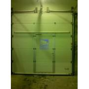 Установка секционных ворот в компании  Halliburton г. Ноябрьск
