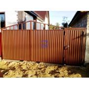 Калитка и распашные ворота в г.Сургут