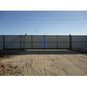 Монтаж привода для откатных ворот