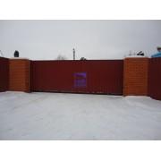 Монтаж откатных ворот в Сургуте!
