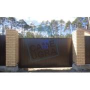 Въездные ворота в Сургуте