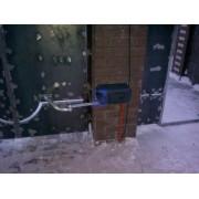 Установка автоматики на распашные ворота г. Сургут