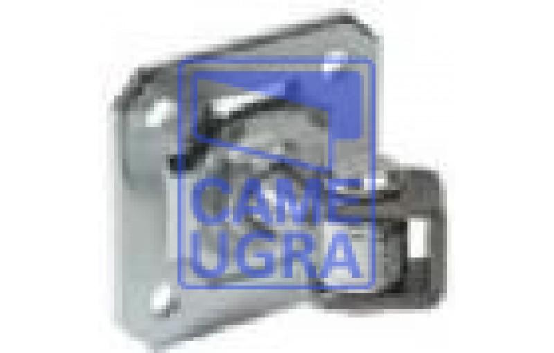 Петля с U-обр. скобой, пластиной и регулируемой гайкой, М24 (до