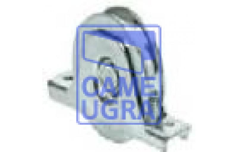 Колесо с 1 подшипником, D100, для ворот до 200 кг (с пластиной к