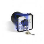 Ключ-выключатель с защитой цилиндра, встраиваемый