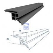Уплотнитель боковой увеличенный для бытовых ворот L=6000 мм