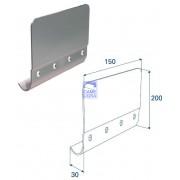 Соединительная пластина (200 мм) для вертикальных направляющих
