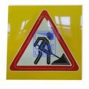 Светодиодный активный импульсный дорожный знак 1.25. Дорожные ра