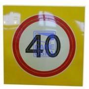 Светодиодный активный импульсный дорожный знак 3.24 Ограничение
