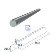 Вал полнотелый с пазом под шпонку (ST37) ОЦ L=7200 мм