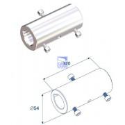 Муфта соединительная  (120 мм) для вала 1.25