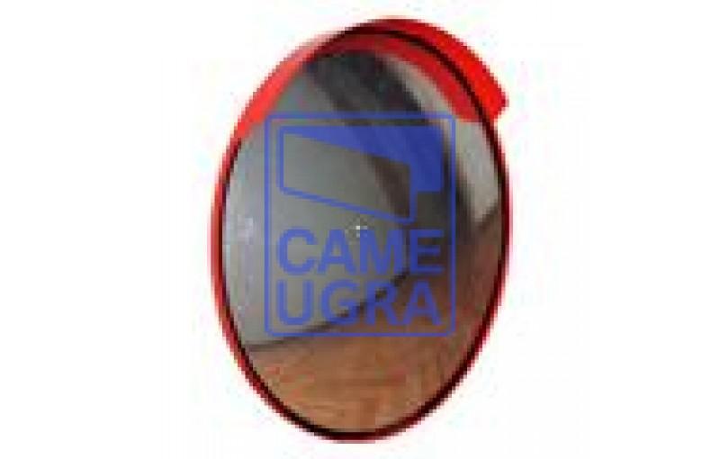 Зеркало дорожное круглое с защитным козырьком