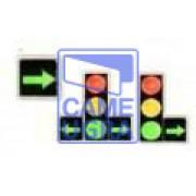 Дополнительная секция зеленая стрелка для Ультратонкого светофор