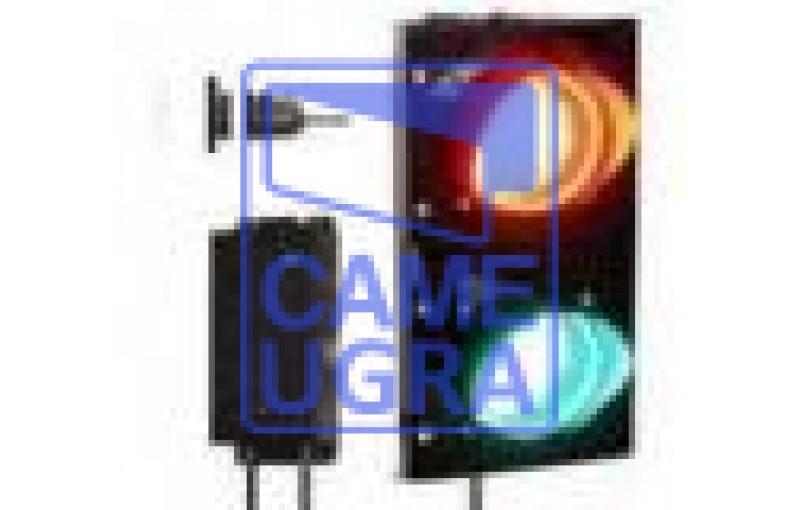 Комплект светофор светодиодный Т.8 100мм c блоком управления для