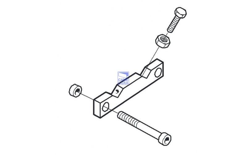 Ограничитель нижний с креплением G4000/G2500