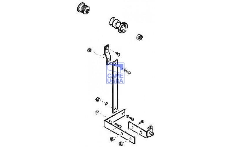 Разблокировка G2080 G2081 с личинкой замка