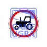 Движение тракторов запрещено