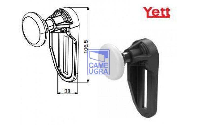 Комплект держателя ролика верхнего правый для ворот Yett